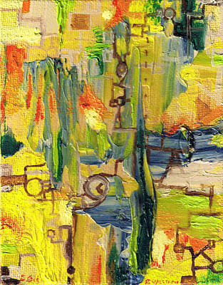 Painting - Repairs by Regina Valluzzi