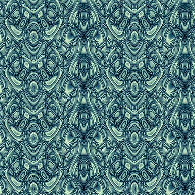 Algorithmic Digital Art - Repeating Patterns No. 11 by Mark Eggleston