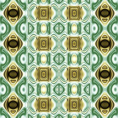 Algorithmic Digital Art - Repeating Patterns No. 13 by Mark Eggleston