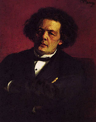 Digital Art - Repin Iliya Portrait Of The Pianist Conductor And Composer Ag Rubinstein by Il'ya Repin