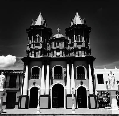 Photograph - Replica Church In El Penol by Camille Pascoe