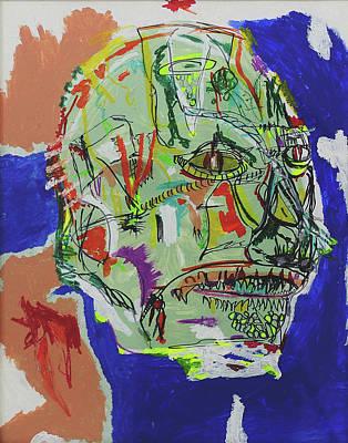 Reptilian No.1 Art Print
