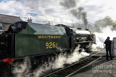 Photograph - Repton Again by David  Hollingworth