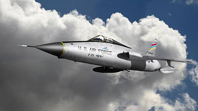 Photograph - Republic F-105 Thunderchief by Larry McManus