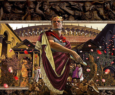 Republic Of Rome Art Print by Kurt Miller