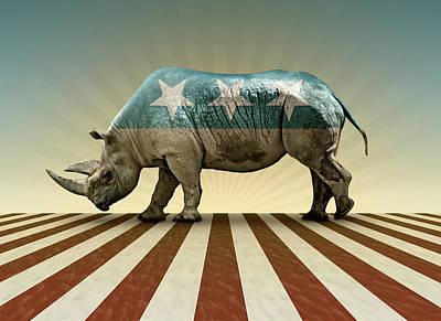 Digital Art - Republican In Name Only by James Larkin