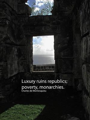 Republics And Monarchies Art Print by Ian  MacDonald