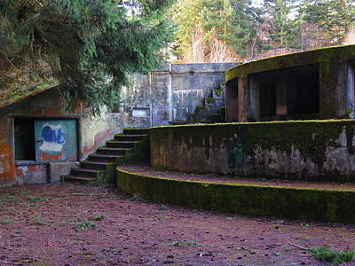 Photograph - Repurposed Fort - Park - Port Townsend by Marie Jamieson