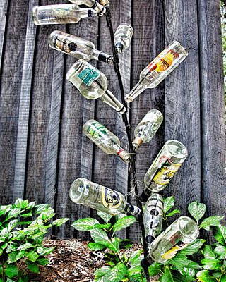 Charleston Photograph - Repurposed Potions by Ed Waldrop
