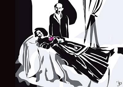 Victorian Death Digital Art - Requiem by Jennifer Buerkle