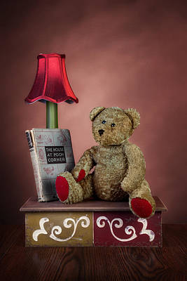 Teddy Bear Photograph - Required Reading by Tom Mc Nemar