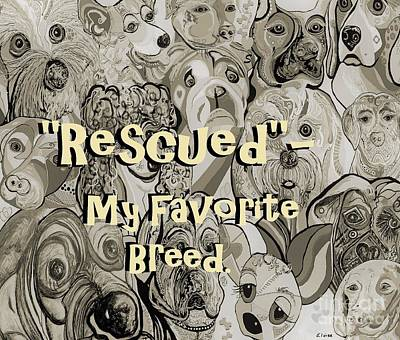 Mellow Yellow - Rescued - My Favorite Breed by Eloise Schneider Mote