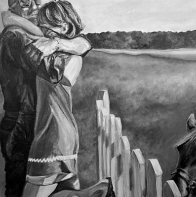 Rescued Pony Art Print by Natalie Mae Richards