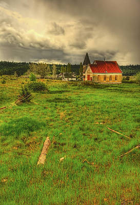Photograph - Reservation Church by Dale Stillman