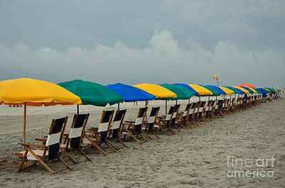Photograph - Reserved Seating On The Beach by Bob Sample