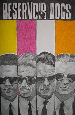 Reservoir Dogs Art Print by Christian Fralick