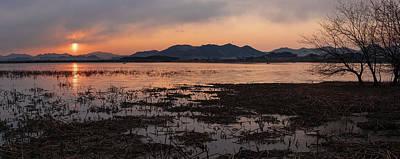 Photograph - Reservoir Sunrise by Roy Cruz
