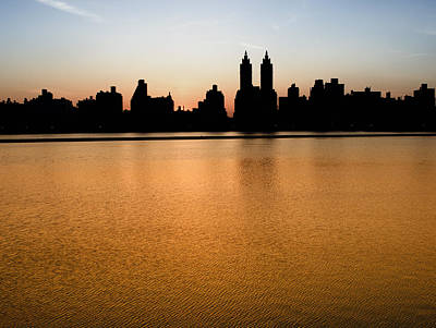 Photograph - Reservoir Sunset by Dave Beckerman