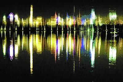 Painting - Reservoir by Tony Rubino