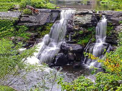 Photograph - Resica Falls by Terry Shoemaker