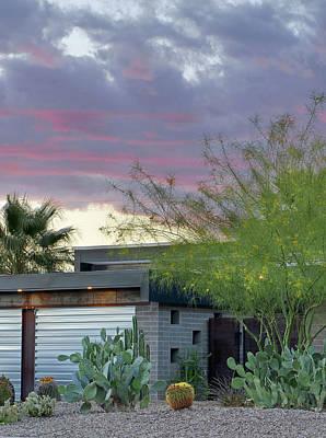 Photograph - Residence 1 Exterior by Jeff Brunton