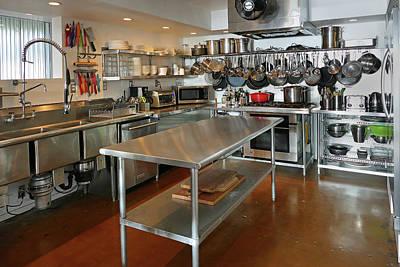 Photograph - Residence 1 Kitchen by Jeff Brunton