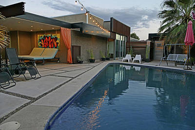 Photograph - Residence 1 Pool Area by Jeff Brunton
