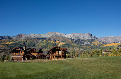 Photograph - Residences In Mountain Village -- A Planned Community Adjacent To Telluride by Carol M Highsmith