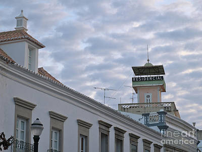 Travel Destinations Photograph - Residencial Tower In Tavira by Angelo DeVal