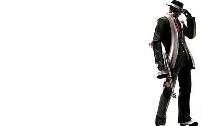 Digital Art - Resident Evil 4 by Super Lovely