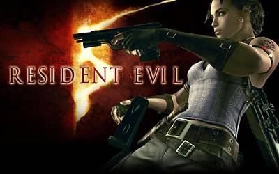 Resident Evil Digital Art - Resident Evil 5 2 by F S
