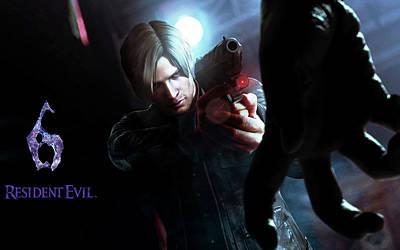 Resident Evil Digital Art - Resident Evil 6 by F S