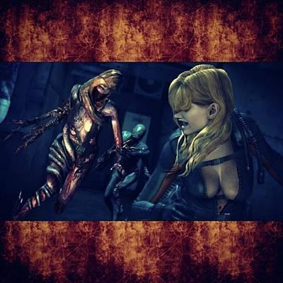 Photograph - resident Evil: Revelations 2 Has by XPUNKWOLFMANX Jeff Padget