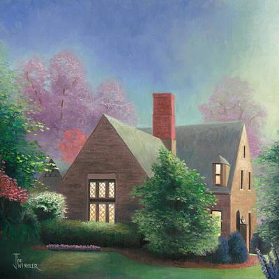 Painting - Residential Portrait by Joe Winkler