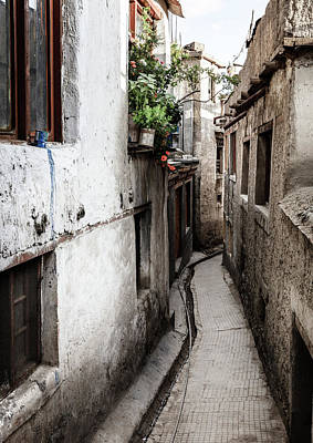 Photograph - Residential Street In Leh, India by Alexey Stiop