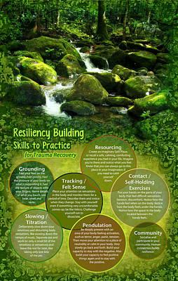 Ptsd Digital Art - Resiliency Forest by Heidi Hanson