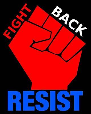 Reform Mixed Media - Resist 2 by Otis Porritt
