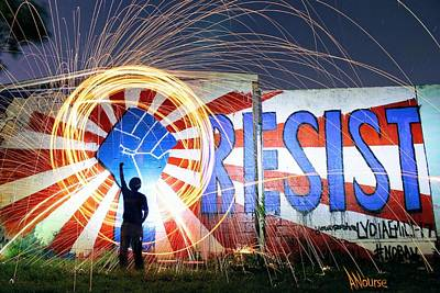 Photograph - Resist by Andrew Nourse