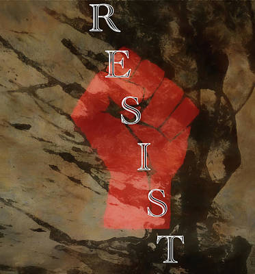 Mixed Media - Resist by Dan Sproul