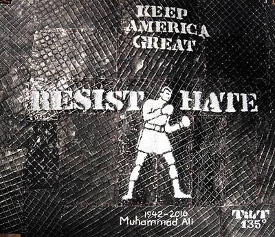 Mixed Media - Resist by William Tilton
