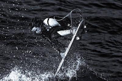Surfer Magazine Photograph - Resolution by Thomas Gartner