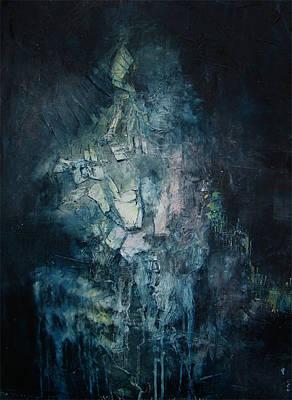 Disintegrate Painting - Resonance 2 by Nathan Bishop
