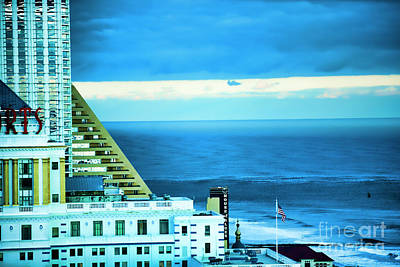 Photograph - Resort Hotel Atlantic City New Jersey  by Chuck Kuhn