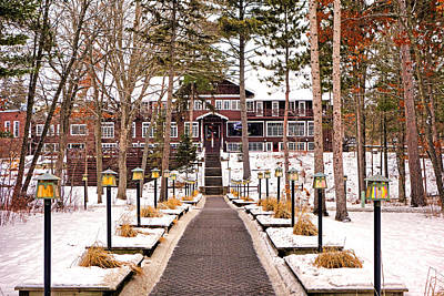 Photograph - Resort In Winter by Robert Meyers-Lussier