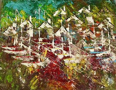Painting - Resort Living by George Riney