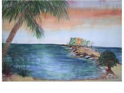 Resort The Keys Art Print by Hal Newhouser