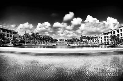 Photograph - Resort View by John Rizzuto