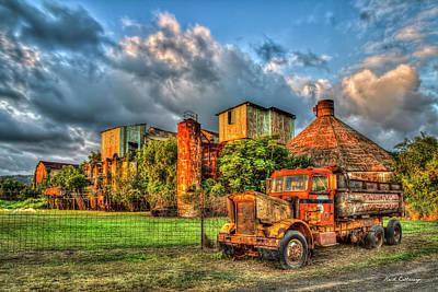 Photograph - Resplendent Rust Old Koloa Sugar Mill Sunset Kauai Collection Art by Reid Callaway
