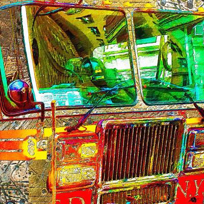 Painting - Responder by Tony Rubino