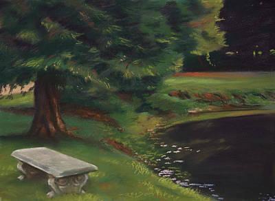 Horizontal Pastel - Rest Area by Christopher Reid